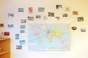 Die Kita Karlsruhe zeigt ihre Postkarten