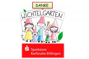 Die Kita Karlsruhe bedankt sich für die Spende