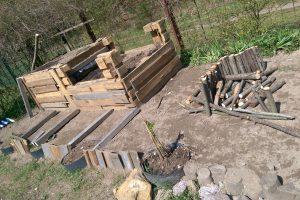 Die Kita Karlsruhe legt einen Garten an für die Nachhaltigkeit