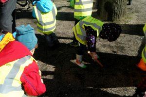 Die Kita Rabennest aus Karlsruhe beteiligt sich aktiv an den Dreck-weg-Wochen