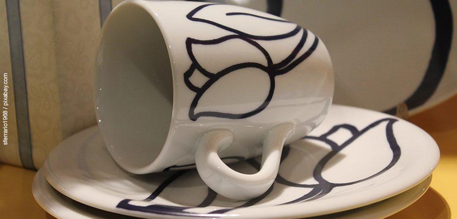 Selbst gestaltete Tassen und Gläser