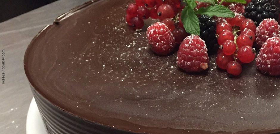 Schokoladentarte Rezept der Kita aus Karlsruhe