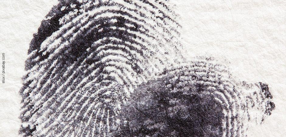 Familienbild mit Fingerabdrücken gestalten