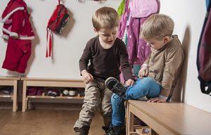 Familienergänzende Erziehung in der Kinderbetreuung Karlsruhe