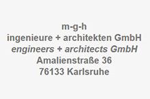 Logo mgh Ingenieure + Architekten