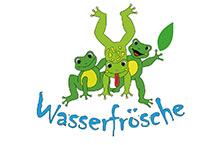 Kita Karlsruhe Logo Wasserfrösche
