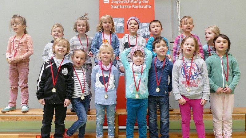 Kita Amalienschlössle bei der Kindergarten-Olympiade