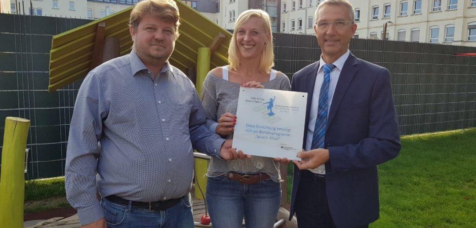 """Kita Amalienschlössle in Karlsruhe ist jetzt eine """"Sprach-Kita"""""""