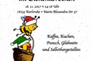 Weihnachtsmarkt im Bienenkörbchen Karlsruhe