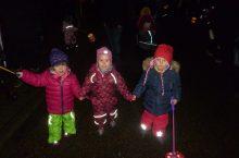 Zauberhaftes Lichterfest in der Kita Grashüpfer