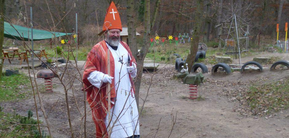 """Ho ho ho"" der Nikolaus kommt zu Besuch"