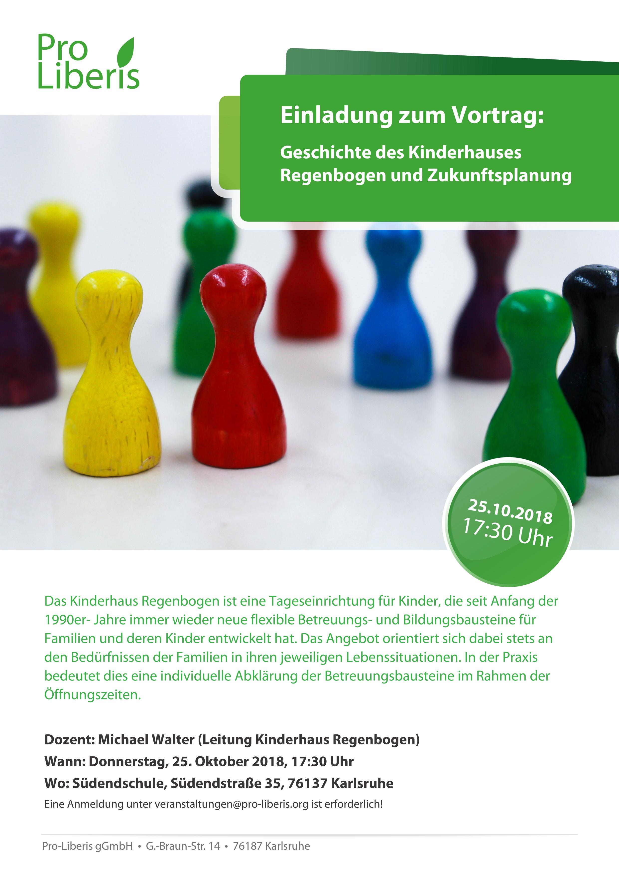 Vortrag über das Kinderhaus Regenbogen Karlsruhe   Pro-Liberis