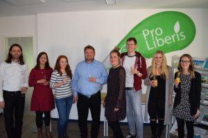 Zusammenkommen der neuen Leitungen bei Pro-Liberis