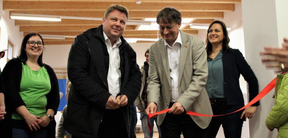 Eröffnung des Familienzentrums Amalienschlössle