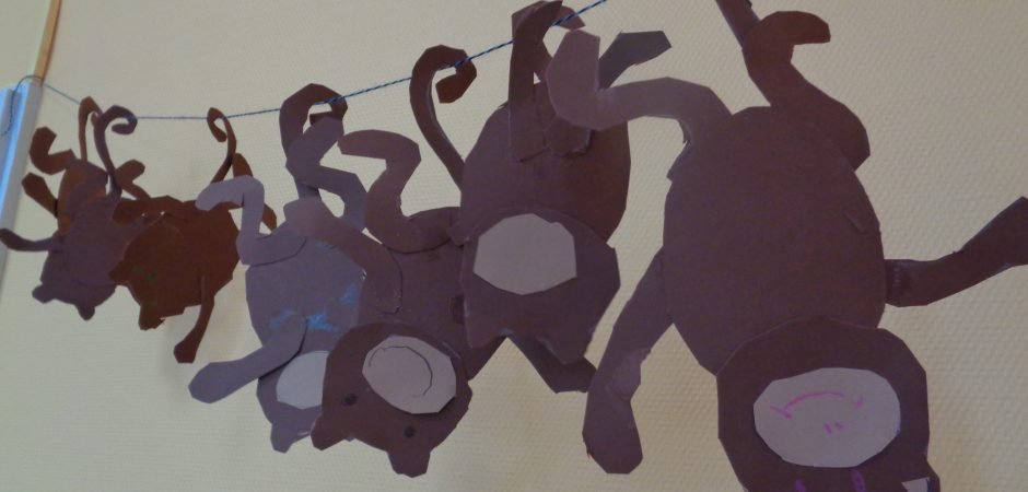 selbstgebastelte Affen