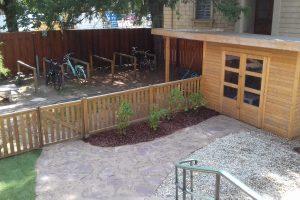 Garten der Kita Stadtvilla