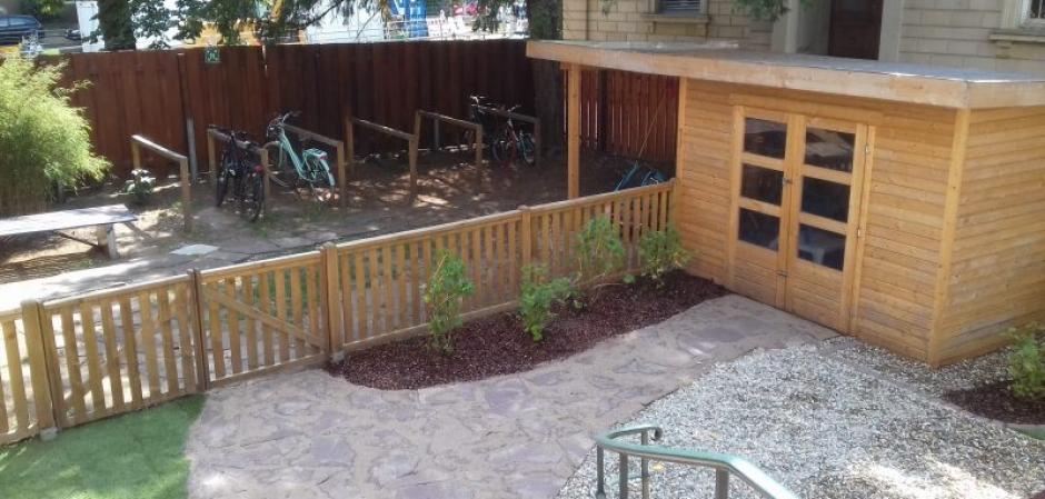 Ein neuer Garten für die Kita Stadtvilla