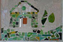 Die Stadtvilla-Kinder in der Glasmalerei