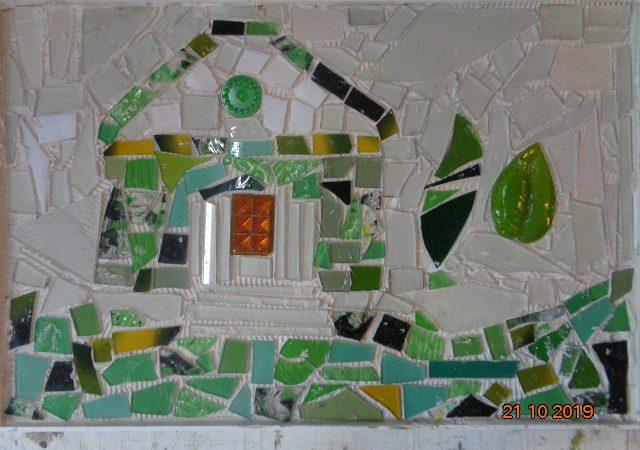 Mosaik aus Glas