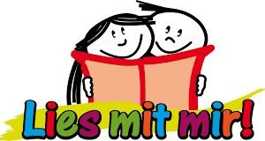 "Logo ""Lies mit mir"""