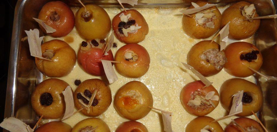 Selbst gemachte Bratäpfel