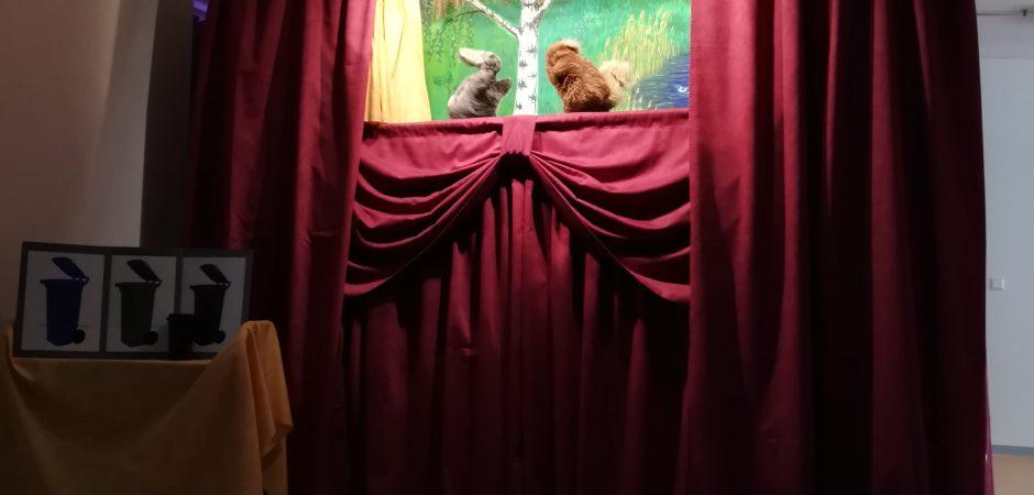 Puppentheater Bühne