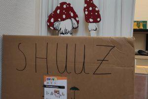 Sammelbox in der Villa Siebenschläfer